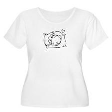 Capture My Heart Plus Size T-Shirt