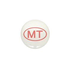 MT Oval - Montana Mini Button (100 pack)