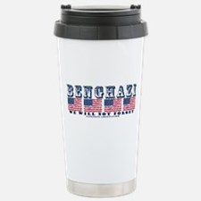 Benghazi - We will Not Forget Travel Mug