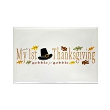 My 1st Thanksgiving Rectangle Magnet