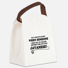 Javanese cat gifts Canvas Lunch Bag