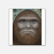 "Bigfoot Square Sticker 3"" x 3"""