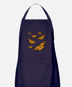 Monarch Butterflies Apron (dark)