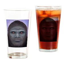 Bigfoot: The Encounter Drinking Glass