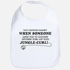 Jungle-Curl cat gifts Bib