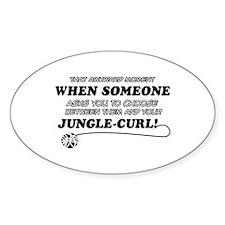 Jungle-Curl cat gifts Decal
