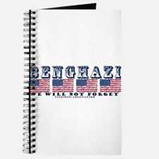 Benghazi -We will not Forget Journal