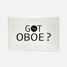 Got Oboe musical designs Rectangle Magnet