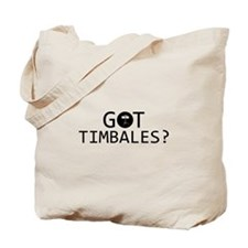 Got Timbales musical designs Tote Bag