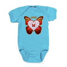 wingsoflove.png Baby Bodysuit