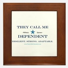 Military Expressions Framed Tile