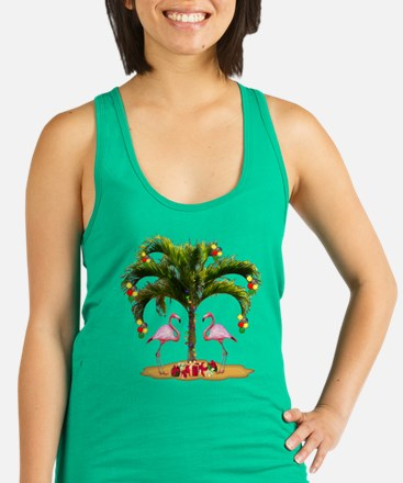 Tropical Holiday Racerback Tank Top