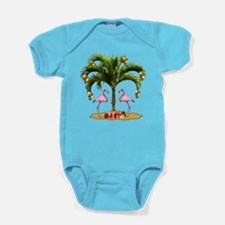Tropical Holiday Baby Bodysuit