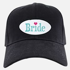 Bride Turquoise Pink Baseball Hat