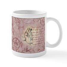 Jane Austen Friends Quote Small Mug