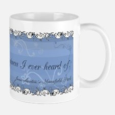 Jane Austen Happiness Quote Mug