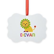 Devan Loves Lions Ornament