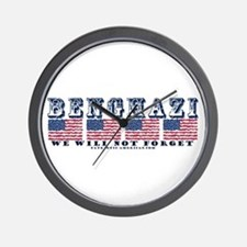 Benghazi - We will Not Forget Wall Clock