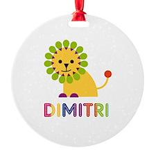 Dimitri Loves Lions Ornament