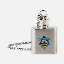 Hanukkah Oh Chanuka... Flask Necklace