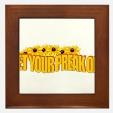 Get Your Preak On! Framed Tile