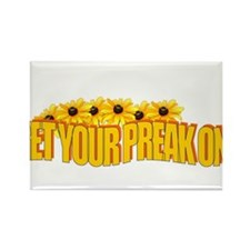 Get Your Preak On! Rectangle Magnet