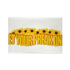 Get Your Preak On corrected Rectangle Magnet