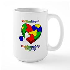 Speak up for Autism Support Mug