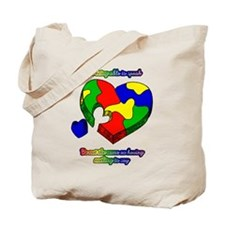 Speak up for Autism Support Tote Bag