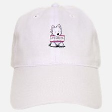 Vital Signs Westie: Sharp Baseball Baseball Cap