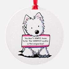 Vital Signs Westie: Sharp Ornament