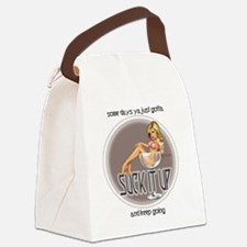 Some Days.jpg Canvas Lunch Bag
