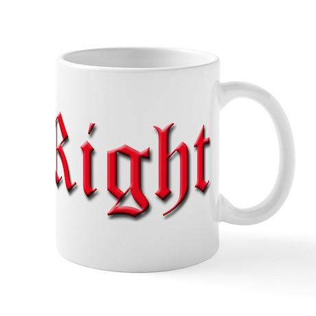 Get Right Logo Mug