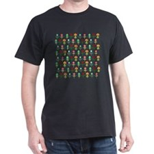 Retro folk floral pattern T-Shirt