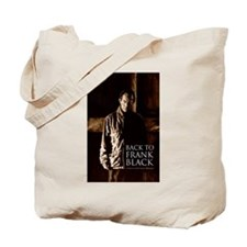 Back To Frank Black Book Cover Tote Bag