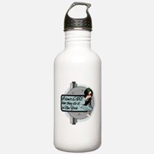 I dont CARE.png Water Bottle