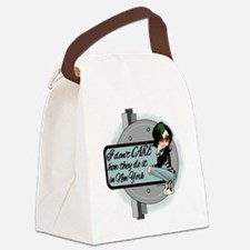 I dont CARE.png Canvas Lunch Bag