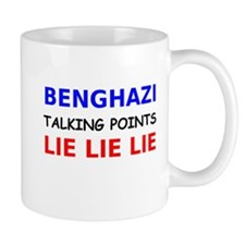 Benghazi Talking Points Mug