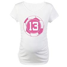 Soccer Number 13 Custom Player Shirt