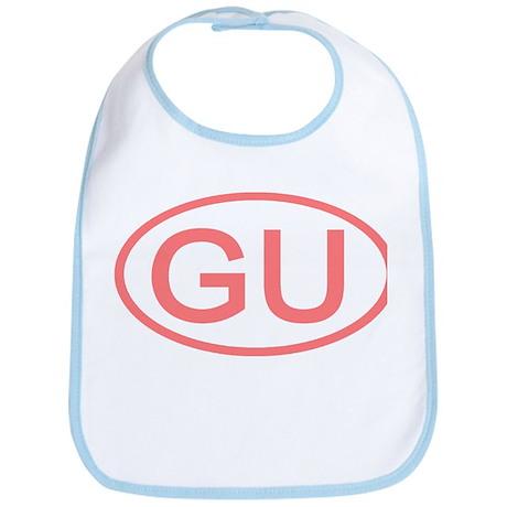 GU Oval - Guam Bib
