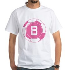 Soccer Number 8 Custom Player Shirt