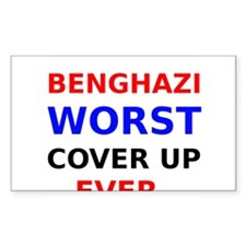 Benghazi Worst Cover up Ever Decal