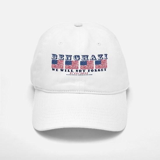 Benghazi - Never Forget (with Date) Baseball Baseball Baseball Cap