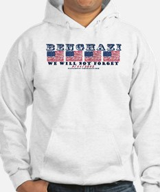 Benghazi - Never Forget (with Date) Hoodie