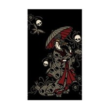 Gothic Geisha Decal