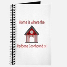 Home is where the Redbone Coohound is Journal