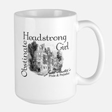 Obstinate Headstrong Girl Large Mug