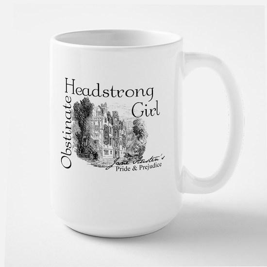 Obstinate Headstrong Girl Large Mug