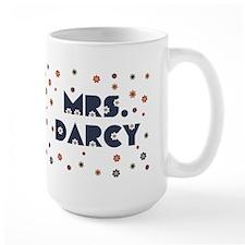 Mrs. Darcy Flower Mug
