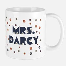 Mrs. Darcy Flower Mug